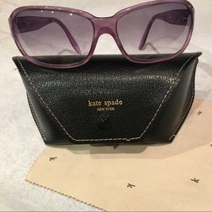 Kate Spade New York PURPLE Sunglasses Aubrey/S